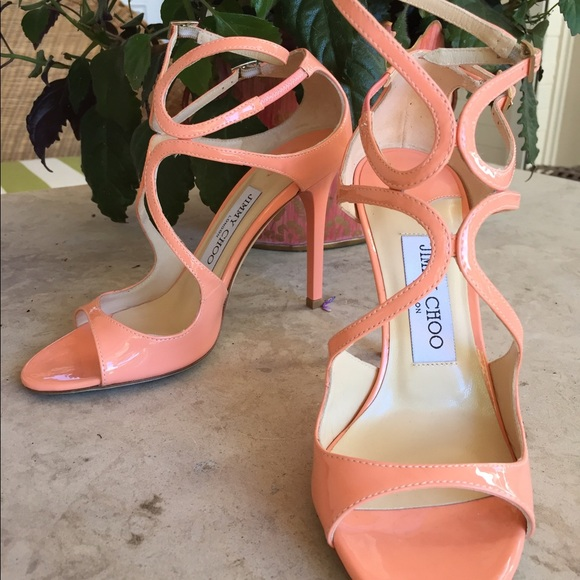 6f0cded7c54 Jimmy Choo Shoes - Jimmy Choo Lang 100 Strappy Patent Leather Sandal