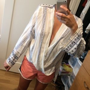 NEW LF Summery Open Front Tunic Top - Small