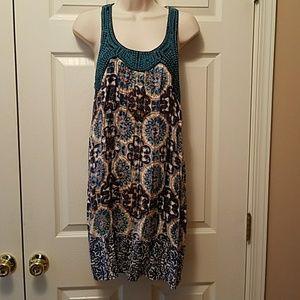 Nostalgia Dresses & Skirts - Nostalgia blue floral sundress, L