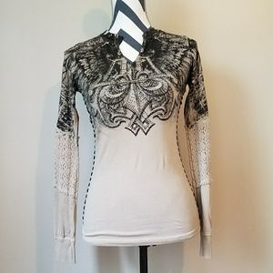 Affliction Tops - Affliction Long Sleeve Top from Buckle