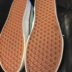 Vans Shoes - Sea foam green vans