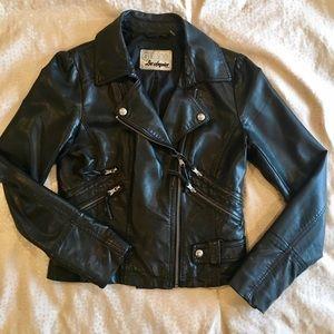Guess Jackets & Blazers - Guess Vegan Moto Leather Jacket