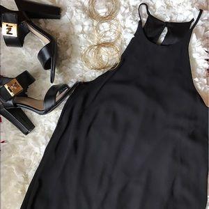 Everly Dresses & Skirts - Everly High Neckline Sleeveless Shift Dress