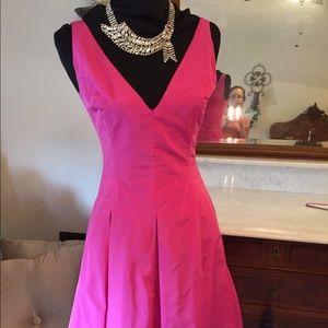 Ralph Lauren Black Label Dresses & Skirts - GUC Ralph Lauren Black Label fitted fuchsia dress