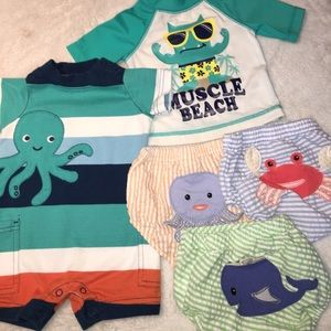 Baby Aspen Other - Beach bundle 0-6 months