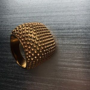 Ariella Jewelry - Gold cocktail ring