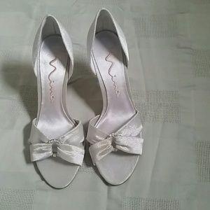 Nina Shoes - Nina womens evening shoes wotj rinstone glam NWOT