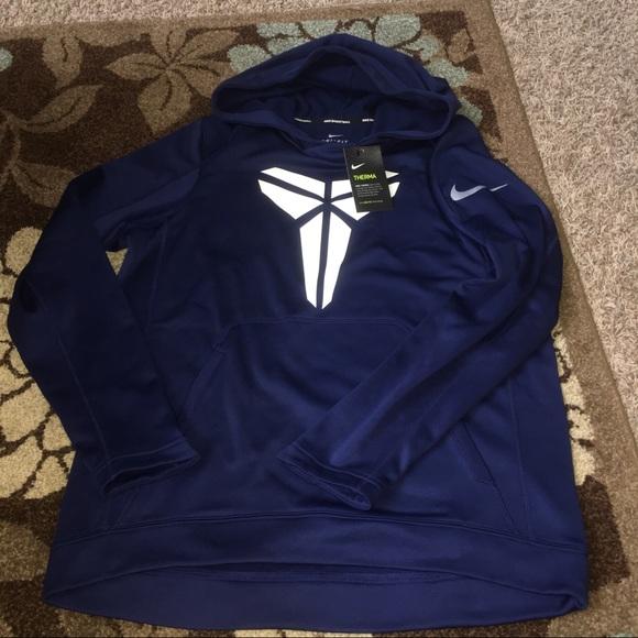 9e1b00375a2 New Kobe Bryant dark blue Nike hoodie