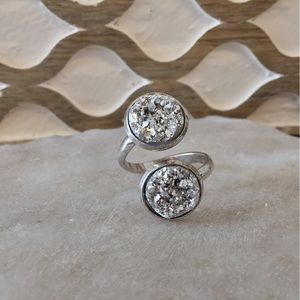 Simple Sanctuary Jewelry - new | Double Druzy Ring