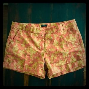J.Crew Printed Chino Shorts