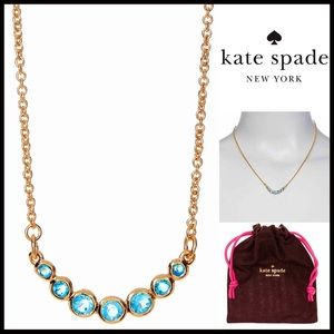 kate spade Jewelry - ❗️1-HOUR SALE❗️BRAND-KATE SPADE Jeweled Necklace