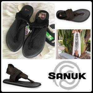 Sanuk Shoes - JUST IN ▪️'GOLD METALLIC' YOGA SLING 2 SANDAL