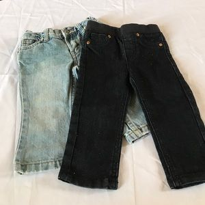 Other - Pre-Loved Baby Girls Jean Bundle 12M