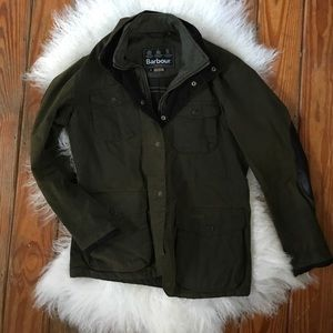 GREAT CONDITION// Men's Army Green Barbour Jacket