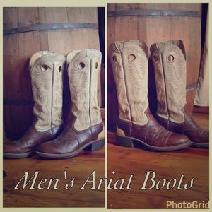 Ariat Other - Men's Ariat Cowboy Boots in Excellent Condition!