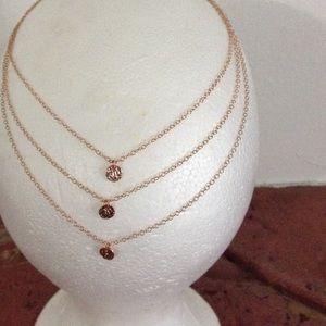 Gorjana Jewelry - gorjana 3 layers Rose gold Necklace NWT