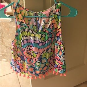 Gypsy jungle Lilly crop top