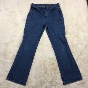 Lauren Ralph Lauren Denim - Lauren Ralph Lauren Classic Bootcut Jeans Size 12