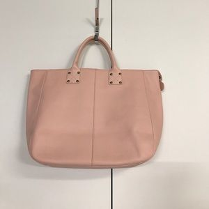 Gap leather tote bag