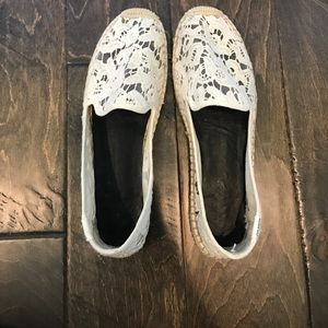 Soludos Shoes - White lace shoes