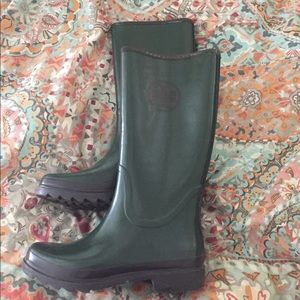 Tory Burch Shoes - PRICE DROP Tory Burch Rain Boots (Sz 10)