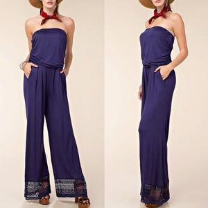 1 HR SALEMANHATTAN Strapless Jumpsuit