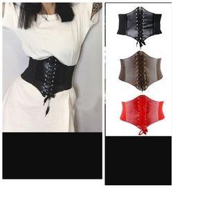 Accessories - Corset Blet 2017 Women Lady Leather Belt Corset Ci