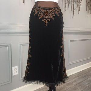 Ermanno Scervino- Velvet Skirt!