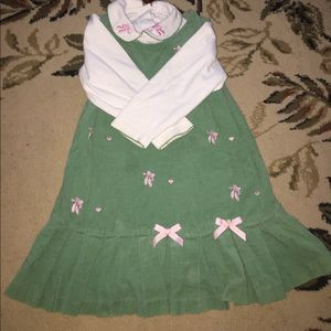 Rare Editions Other - Girls slipper dress size 5