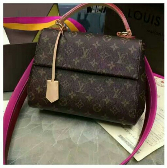 99599d3df3bf Louis Vuitton Handbags - Cluny MM Monogram Canvas