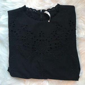 LC Lauren Conrad Tops - Lauren Conrad embroidered top