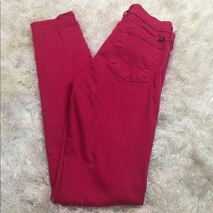 Lucky Brand Denim - Lucky Brand skinny jeans in pink
