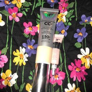 IT Cosmetics Other - IT Cosmetics CC+ cream & bye bye under eye