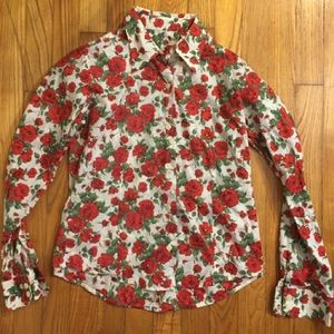 Barbour Tops - Barbour Liberty Print Rose Button Down