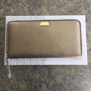Lodis Handbags - Lodis Bronze Joya Wallet