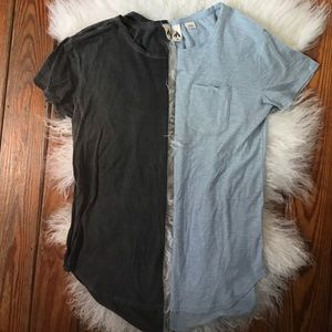 BARELY WORN// Urban Outfitters Tunic Tees