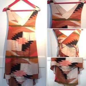 Billabong back-wrap dress.