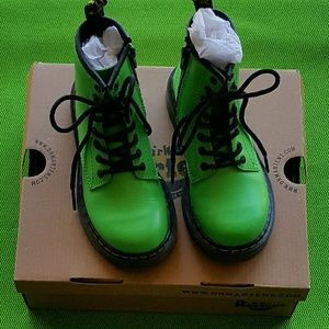 Dr. Martens Other - Dr. Martens Delaney Boots Green Size Youth 12 EUC