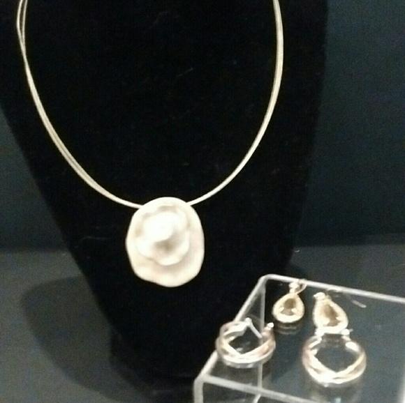 89 Off Jones New York Jewelry Jones Ny Necklace Style Company Hoop Earrings From Faith 39 S