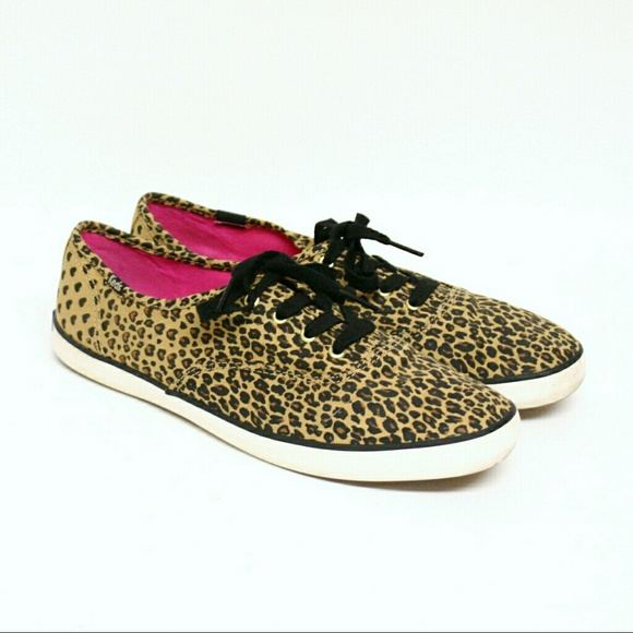 17a1919f1e6 Keds Shoes - Keds Champion Leopard Heart Oxford Sneakers
