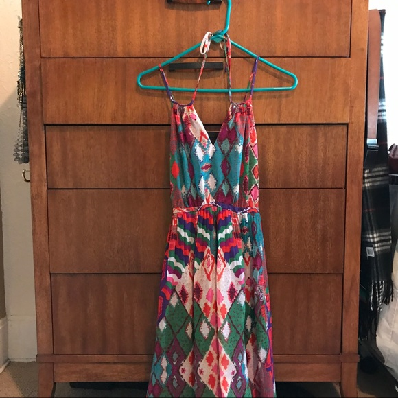 64 off anthropologie dresses skirts anthropologie for Anthropologie mural maxi dress