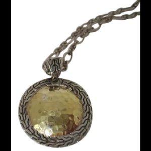 """John Hardy Jewelry - John Hardy Sterling silver 22k Palu 18"""" necklace"""