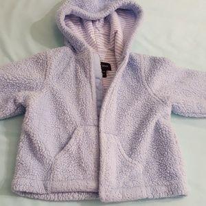 Baby blue softest jacket