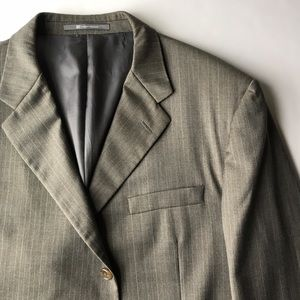 Hickey Freeman Other - Hickey-Freeman Striped Madison Suit Jacket