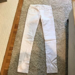 Celebrity Pink Denim - White jeggings size 3
