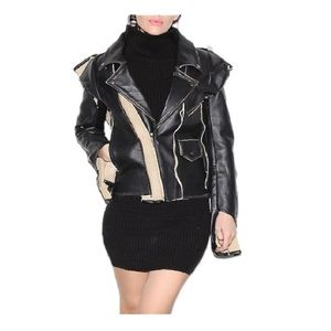 Maison Martin Margiela for H&M Jackets & Blazers - Mason Martin Margiela Unfinished Leather Jacket!