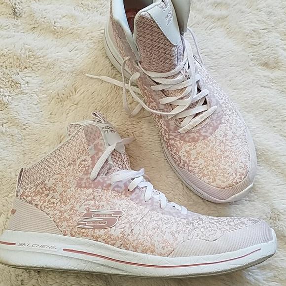 Skechers Shoes | Memory Foam High Tops