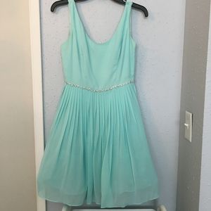 Nordstrom Dresses Tiffany Blue Mint Short Prom Dress Poshmark