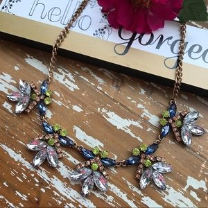 Karen1177 Jewelry - Just In 🌼 New Crystal Flowers Statement Necklace