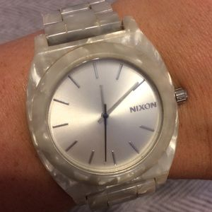 Nixon Accessories - SALE‼️💰⬇️NIXON WATCH TIME TELLER MOTHER OF PEARL